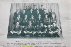Northern Suburbs Reserve Grade Premiers 1937.