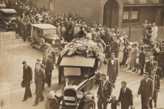 George Huff Funeral Cortege 19th September 1933.