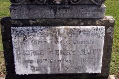 George Huff's Headstone at Sandgate.