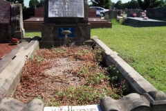 George Huff Grave site at Sandgate.