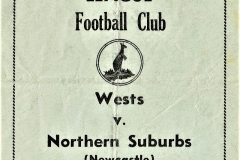 Western Suburbs (SYD) vs Northern Suburbs 1950.